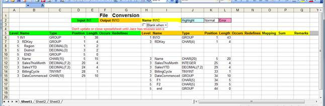 Data Mapping and Conversion